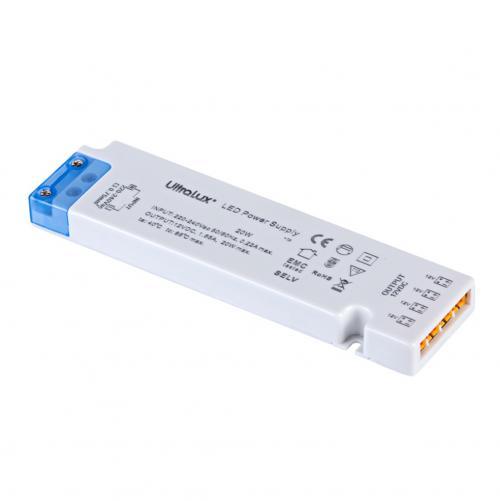ULTRALUX - ZML1218 Захранване за мебелно светодиодно осветление, 18W, 1.50А, IP20