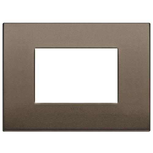VIMAR - 19653.17 Arke  Тримодулна рамка Classic dark bronze