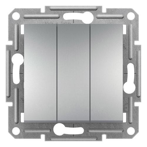 SCHNEIDER ELECTRIC - SDN0300660 Троен ключ Sedna 10А алуминий