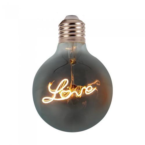 V-TAC - LED Крушка 5W Love Filament E27 G125 2200К SKU: 2700 VT-2205