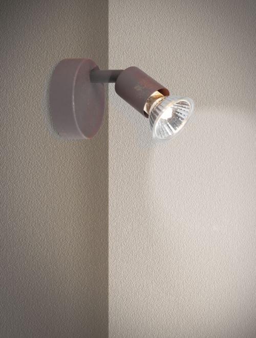 NOVA LUCE - Спот BASE 662001 GU10 1x50 Watt IP20 Bulb Excluded L: 8 W: 6.7 H: 10.9 cm