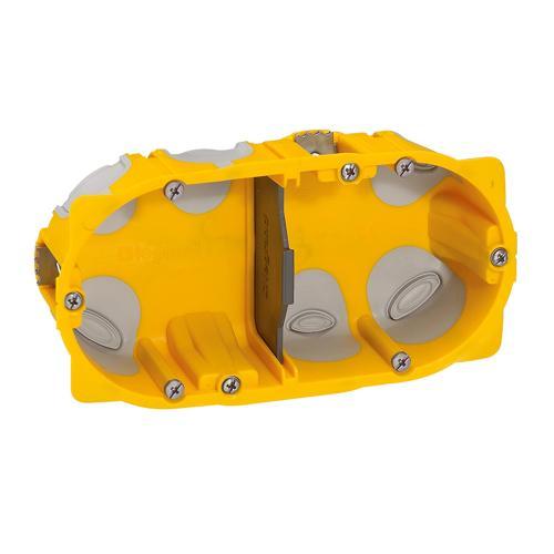 LEGRAND - 80022 Конзола за гипс картон 4/5 мод. 40мм ECOBatibox с гумени мембрани