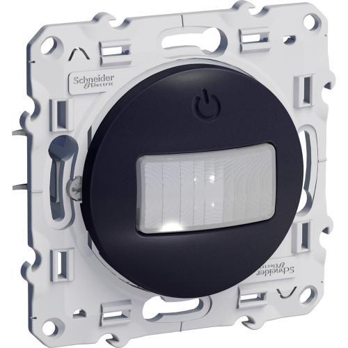 SCHNEIDER ELECTRIC - S540525 Детектор за движение 10 A трипроводен Odace антрацит