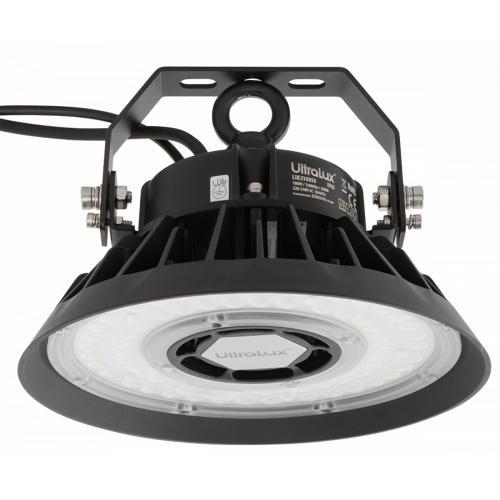 ULTRALUX - LIKX10050 LED индустриално осветително тяло с димиращ драйвер 0-10V, 100W, 5000K, 100-277V AC, IP65