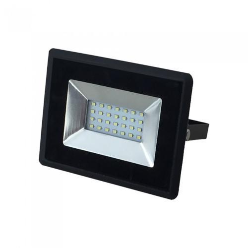 V-TAC - 20W LED Прожектор E-Series Черно Тяло Син IP65 SKU: 5993 VT-4021
