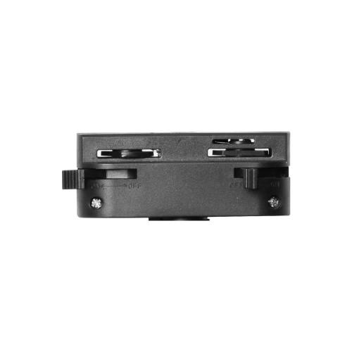 VIVALUX - Адаптор за релсов монтаж за релсови осветителни системи HEAD - черен VIV004081