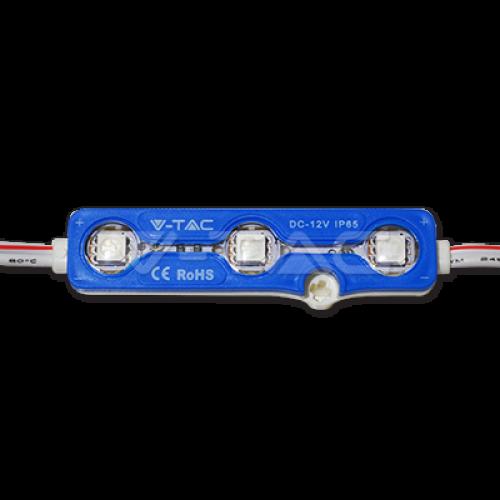 V-TAC - LED Модул 3LED SMD5050 Син IP65 SKU: 5118 VT-50503