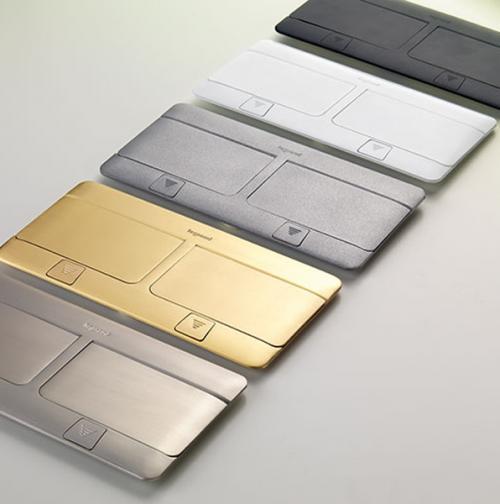 LEGRAND - 54018 Подова кутия 2х4 модула драскано злато