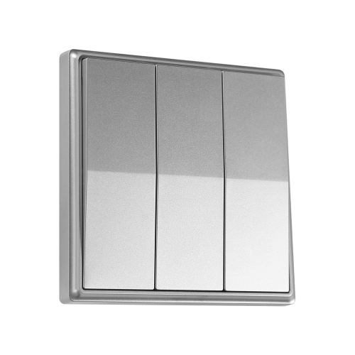TNL - Кинетичен троен ключ / Сребрист SKU: EE0387