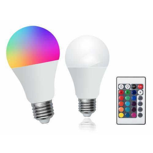 RABALUX - 1504 LED крушка E27 7W  2700K+RGB дистанционно управление