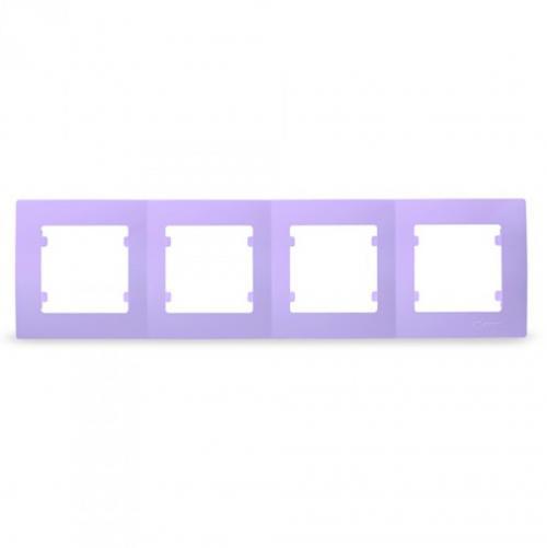 MAKEL - Четворна рамка светло лилава Lillium Natural Kare 32095704