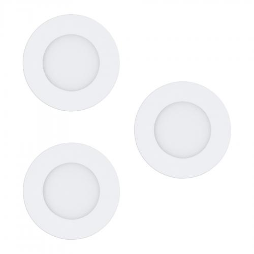 EGLO - LED луна за вграждане комплект 3бр. FUEVA-Z 900099