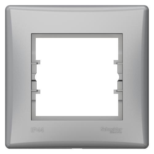SCHNEIDER ELECTRIC - SDN5810560 влагозащитена рамка Sedna единична алуминий IP44