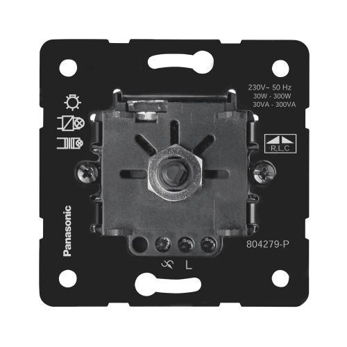 PANASONIC - Rotary Dimmer RLC 30-350W, Mechanism WBTM0524-5NC