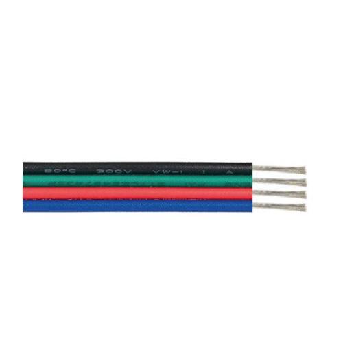 ACA LIGHTING - Кабел черен зелен червен син 17 x 0.12mm 4AWG22