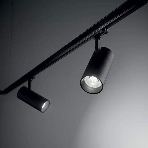 IDEAL LUX - LED прожектор за релсов монтаж QUICK 246437 15W CRI80, 3000K BK DALI