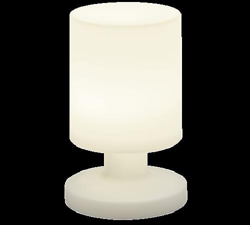 TRIO - Градински фенер  бял влагозащитен IP44  LORA – R57071101