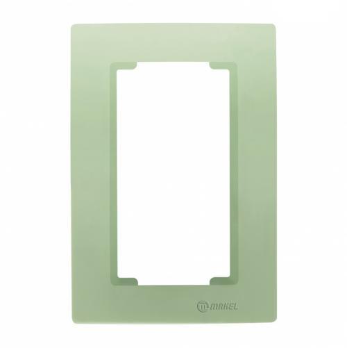 MAKEL - Рамка зелена за двоен контакт Lillium Natural Kare 32091710