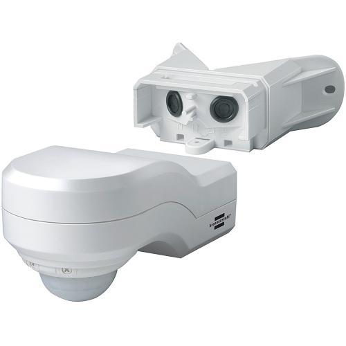 BRENNENSTUHL - PIR сензор, PIR240, 12m, IP44, влагозащитен,ъглов. бял, 1170910