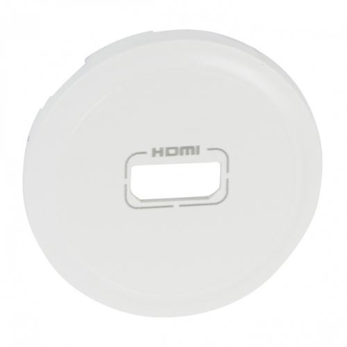 LEGRAND - Лицев панел за HDMI Celiane 68216 бял