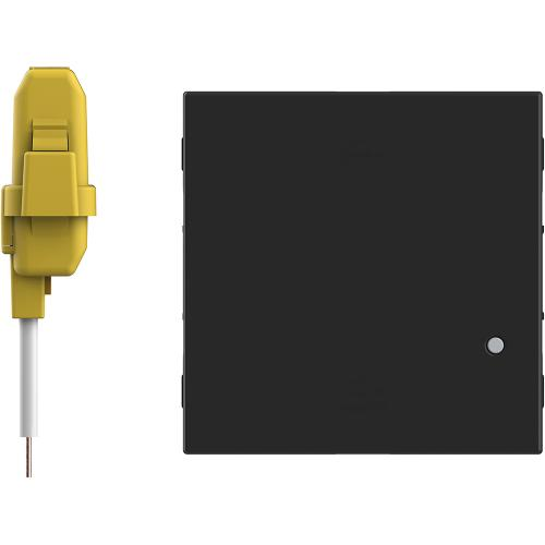 BTICINO - RG4411CM2 Ключ/димер Smart с компенсатор 2 мод. ЖИЧЕН цвят Черен Classia Bticino с Netatmo