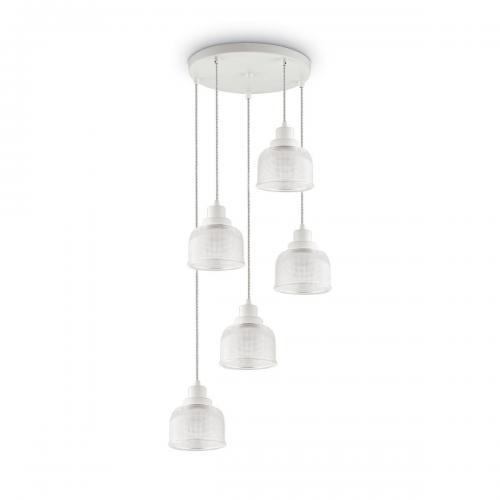 IDEAL LUX - Полилей RUBY SP5 Bianco  153094