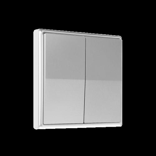 TNL - Кинетичен двоен ключ сребрист / SKU: EEE0287