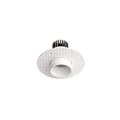 NOVA LUCE - Луна за вграждане SELENE White Aluminium 5W Trimless Luminus D:3.4 H:6.1 350Lm 3000K IP20 9052015