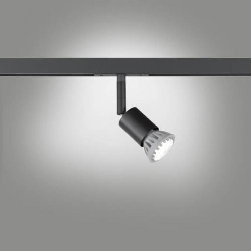 Fischer And Honsel - luminaire system element   m6 - HV TRACK 6  70332  BLACK