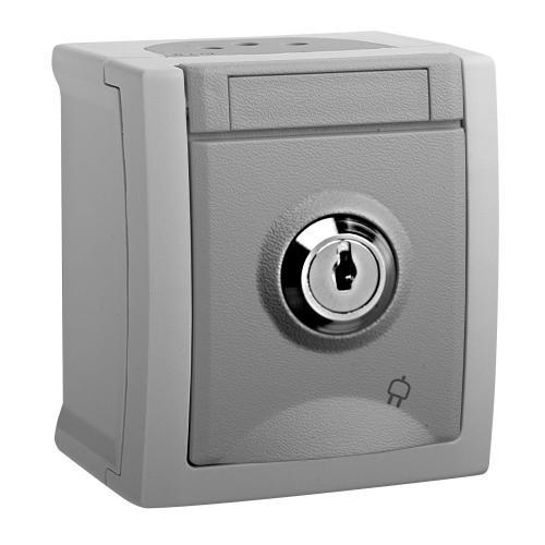 PANASONIC - контакт с ключалка Pacific Panasonic IP54