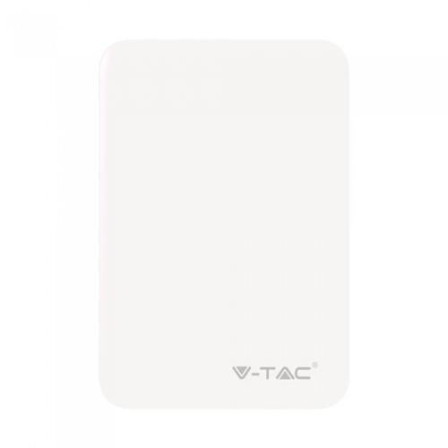 V-TAC - SKU:8191 VT-3503 5000mah POWER BANK-WHITE
