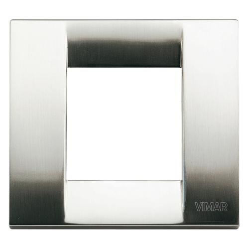 VIMAR - 17092.34 - Рамка 2М метал brushed nickel