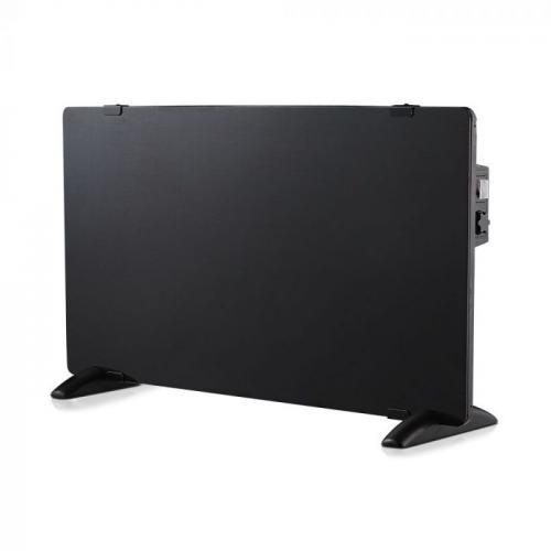 V-TAC - Конвектор 2000W стъклен черен панел SKU: 8662 VT-2000