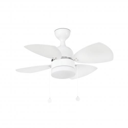 FARO - Таванен вентилатор със осветление MEDITERRANEO 33704