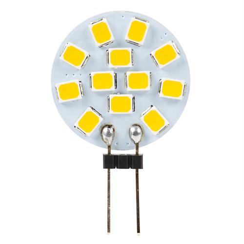 ULTRALUX - L12G4242 LED лампа 2W, G4, 4200K, 12V DC