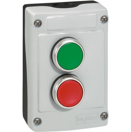 LEGRAND - Дву-бутонна кнопка пуск/стоп 1 NO/1 NC 10А IP66 24230