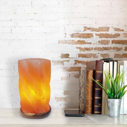 RABALUX - Декоративна лампа от каменна сол HEKLA 2677