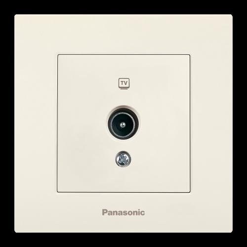 PANASONIC - Розетка TV Panasonic Kare крем WKTC04522BG‐EU1