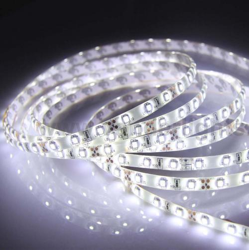 ULTRALUX - LSW283560W LED лента SMD2835, 4.8W/m бяла, 12V DC, 60LEDs/м, 5m, водоустойчива IP65