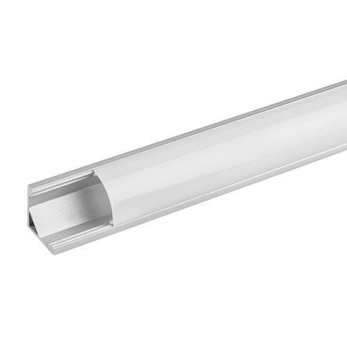 ULTRALUX - APN204 Алуминиев профил за LED лента, ъглов, 2м