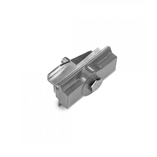 ACA LIGHTING - Адаптор за монтиране за трифазна шина за вграждане сивo 4WADSG