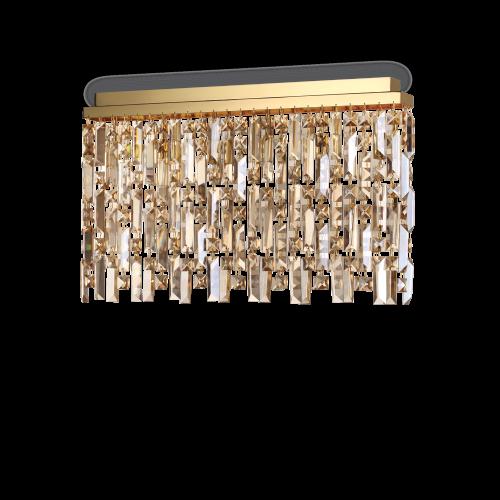 IDEAL LUX - Плафон ELISIR PL6 OTTONE 200095