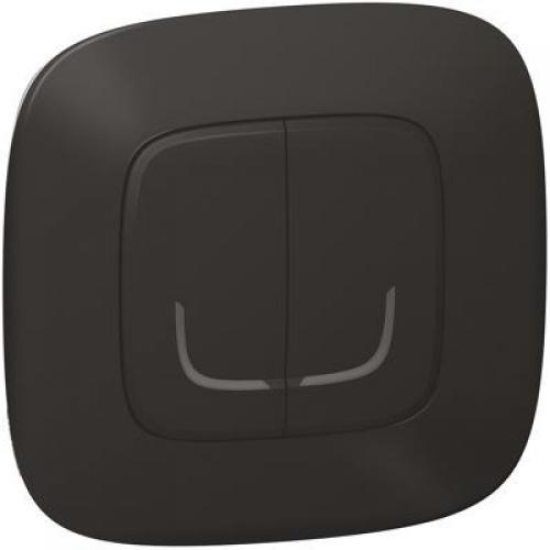 LEGRAND - Сериен ключ БЕЗжичен Smart Valena Allure Черно с рамка Legrand с Netatmo 752887