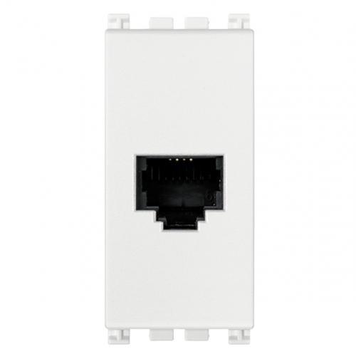 VIMAR - 19320.B - Arke RJ11 телефонна розетка 6/4 бял