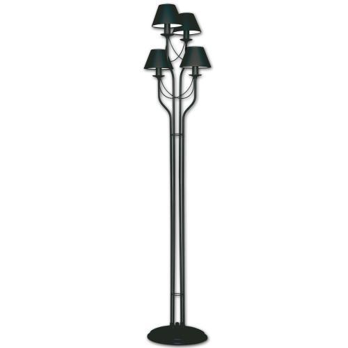 LIS LIGHTING - Лампион Bona 4349P-H02 E14, 4x40W, H190, D38cm, черно