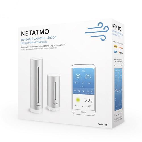NETATMO - Mетеорологична станция персонална Smart Netatmo Pro  NWS01-EC