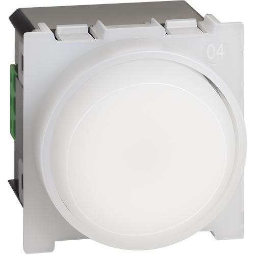 BTICINO - Изваждаема и презареждаща LED лампа 0,4W 230V 2 мод. Living Now Bticino  K4380