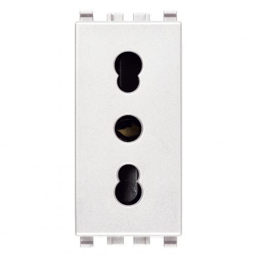 VIMAR - 20203.B - Eikon Контакт италиански стандарт 2P+E 16A P17/11 бял
