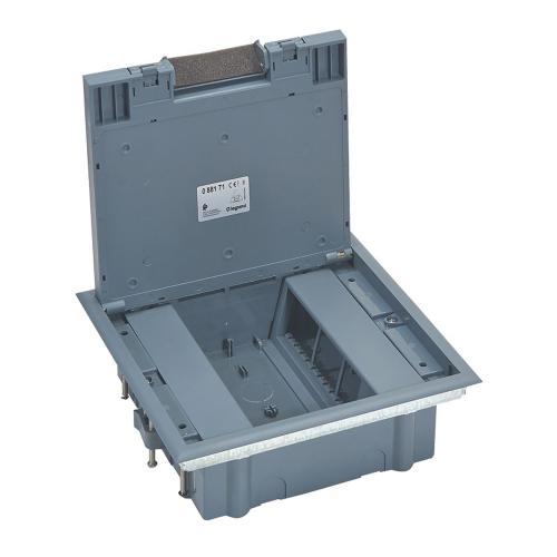 LEGRAND - Подова кутия 12 модула ECOBOX с капак за вертикален монтаж на механизми 88171