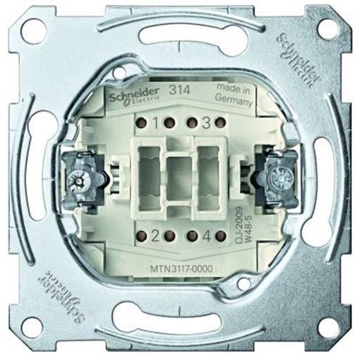 SCHNEIDER ELECTRIC - MTN3117-0000 Кръстат ключ 10А Merten